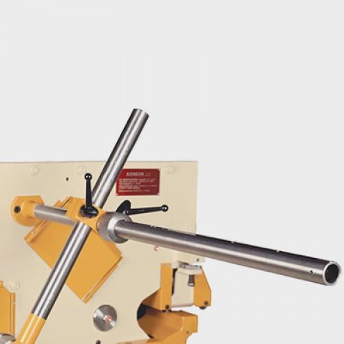 Automata leállító  (szögvasak, laposacél daraboláshoz) idomacél megmunkáló kiegészítõ
