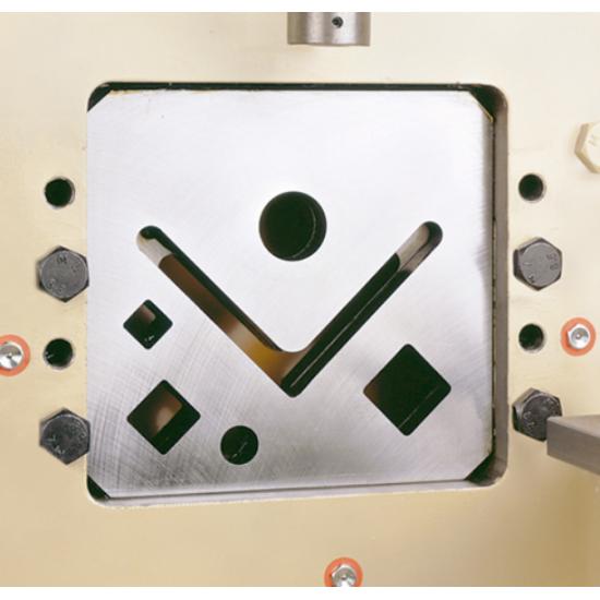 Szögvas daraboló (90°) idomacél megmunkáló kiegészítõ